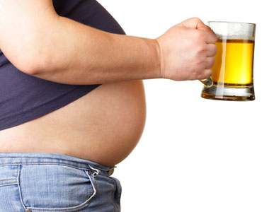 how to lose a beer belly